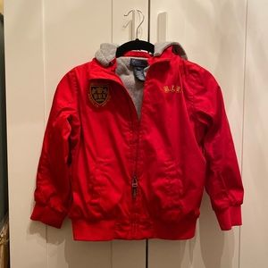 Polo Ralph Lauren jacket kids size 7